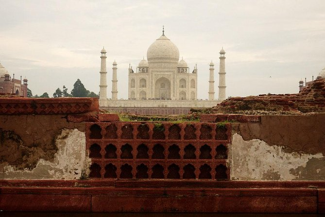 All Inclusive Full Day Taj Mahal & Agra Tour From Delhi
