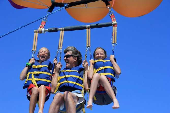 Expérience en parachute ascensionnel à Oahu