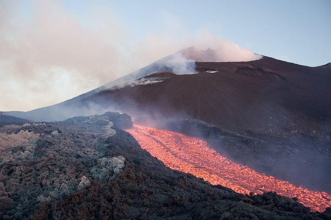 Private Etna Craters Tour & Organic Lunch in Panoramic Winery