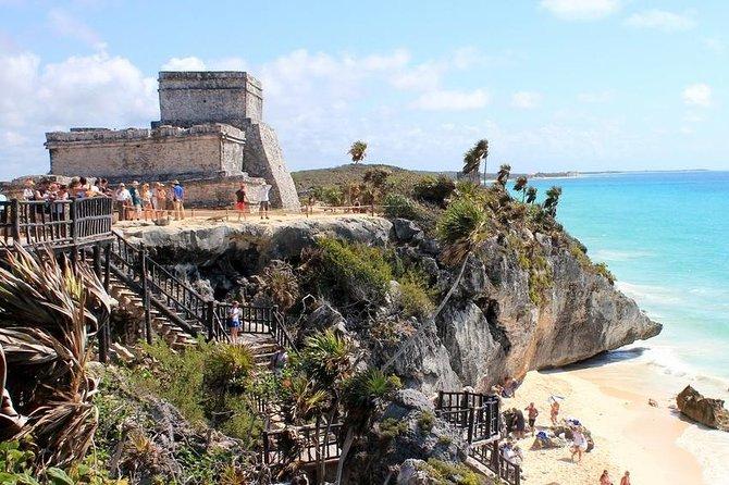 Tulum, Coba Ruins og Akumal Tour fra Cancun