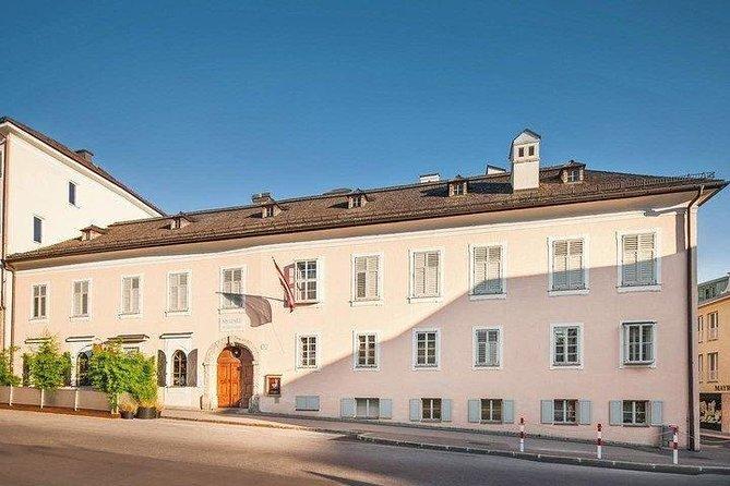 Ticket d'entrée à la résidence Mozart à Salzbourg