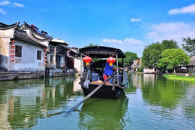 Xitang Water Town Amazing Private Day Tour from Shanghai with Boat Ride