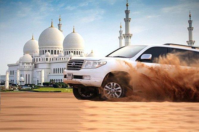 Half-Day Sheikh Zayed Grand Mosque Tour & Dubai Evening Desert Safari Combo