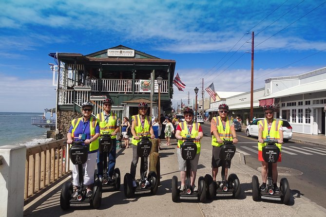 Segway Tour on Maui - 2 hours - Lahaina historical town