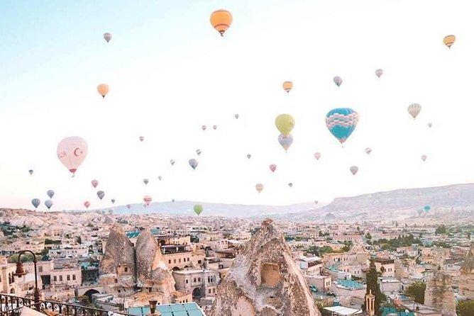 Excursão de 2 dias na Capadócia saindo de Istambul com Cave Hotel e passeio de balão