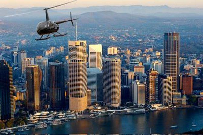 Brisbane Helicopter Tour: Super Saver Scenic Flight