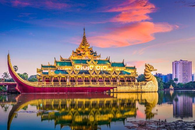 Inside View Of Yangon