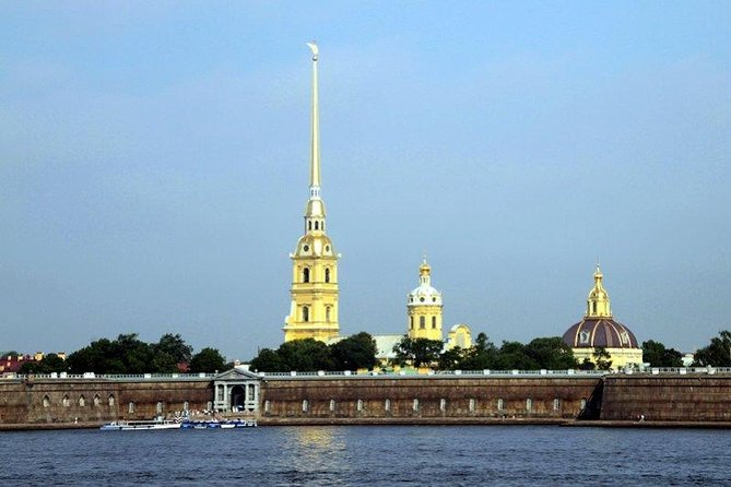 City walking tour including Peter and Paul Fortress