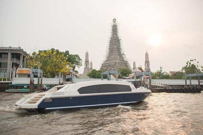 Tour privado: crucero de 2 horas al atardecer en Bangkok con champán