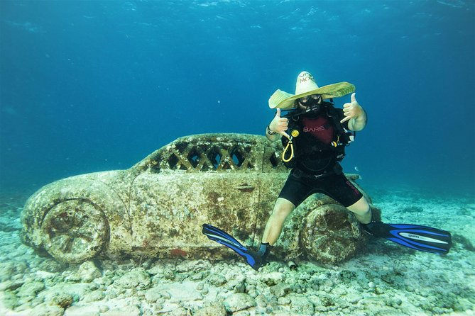 For certified Divers Experience the Under Water Museum and the Manchones Reef