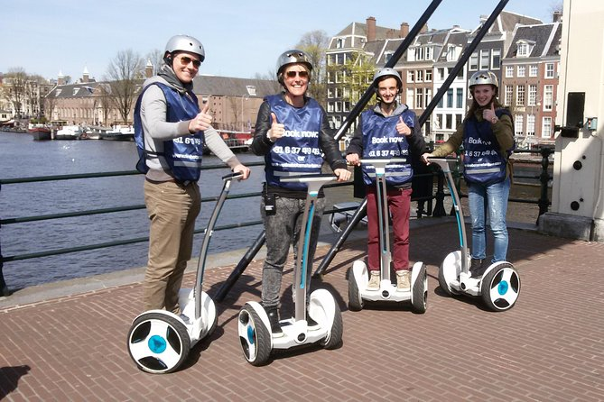 Amsterdam City Tour With Ninebot Scooter
