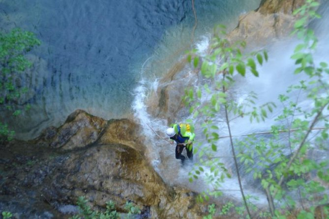 Zet Olympus Canyoning op