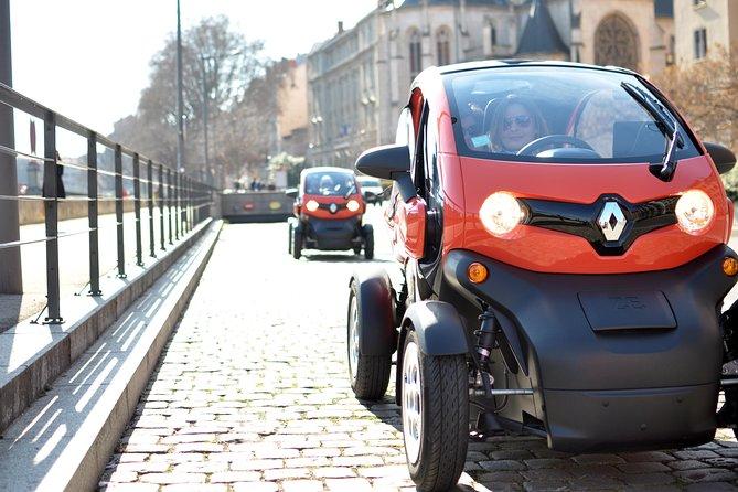 Lyon Private City Tour by Electric Car