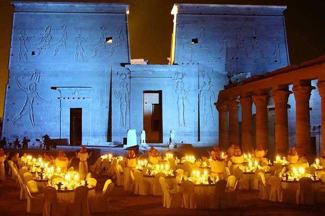 Philae Temples sound and light show
