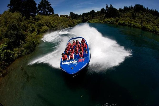 Hukafalls Jet Boat Ride from Taupo