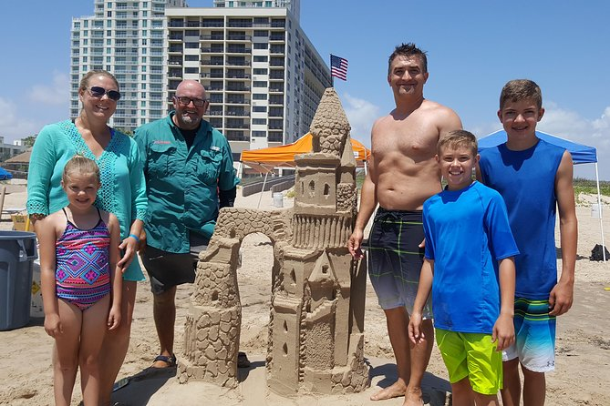 Private Rockstar Sandcastles Workshop in South Padre Island