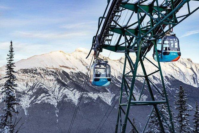 Banff Winter Sightseeing Tour with Banff Gondola