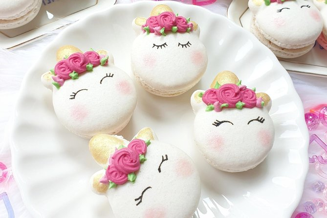 Unicorn Macaron Baking Workshop & Lunch with Champagne