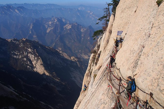 Xian Day Trip to Mt. Huashan with Round-trip Cable Car, Private No Shopping Tour