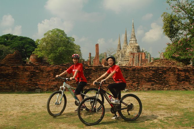 Exploring Historic Ayutthaya by Bike