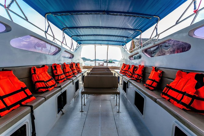 Phuket to Koh Yao Yai by Koh Yao Sun Smile Speed Boat