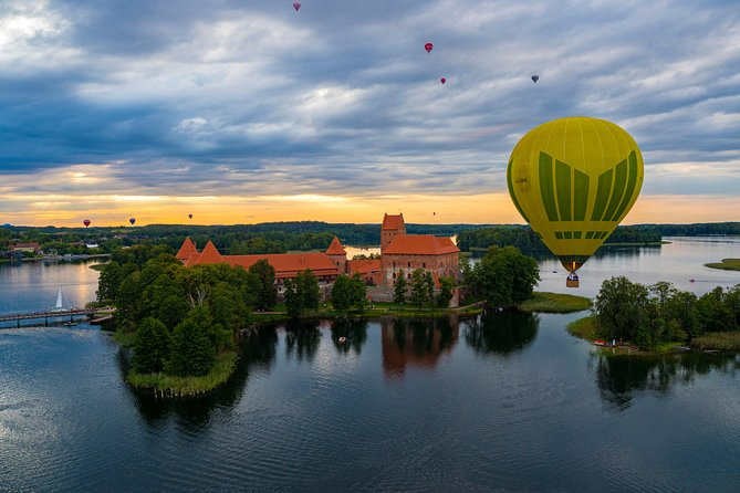 Hot Air Balloon Flight over Vilnius | Trakai