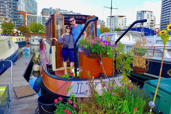 Special English Cream Tea On A Cute Dutch Barge