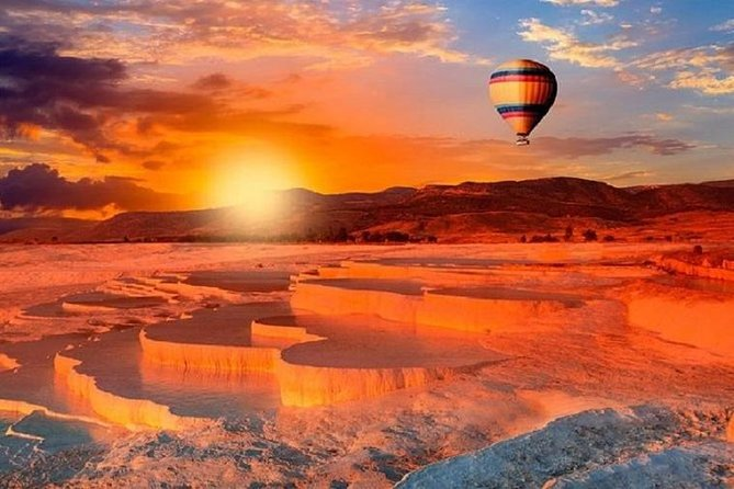 Pamukkale Hot-Air Balloon Flight with Champagne