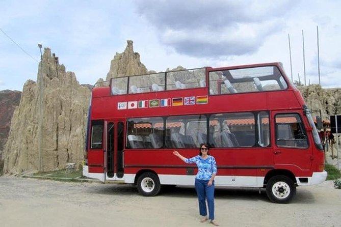 Ônibus City Tour Pontos Turisticos La Paz