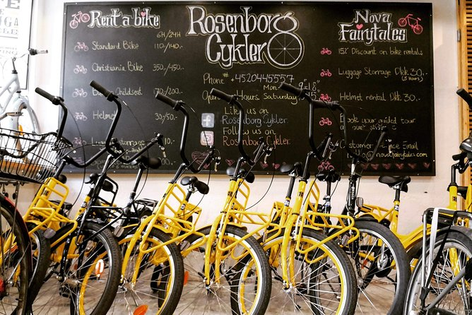 Bike rental in Copenhagen/Standard Bike 24 hours