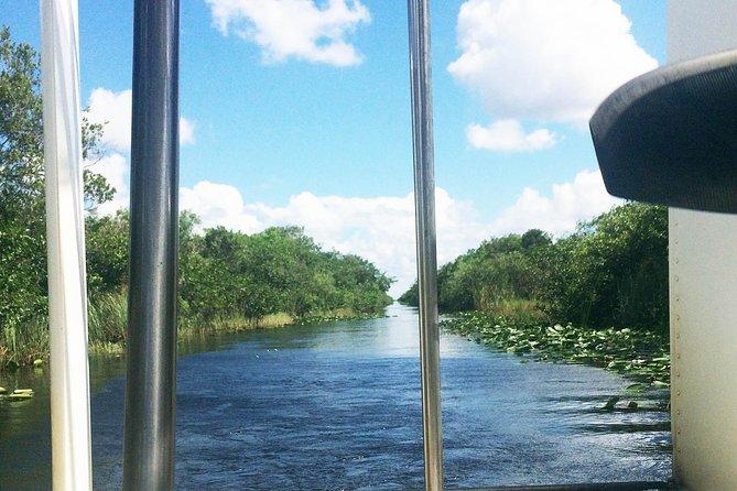 Roundtrip transfer from Miami Beach to Everglades Safari Park