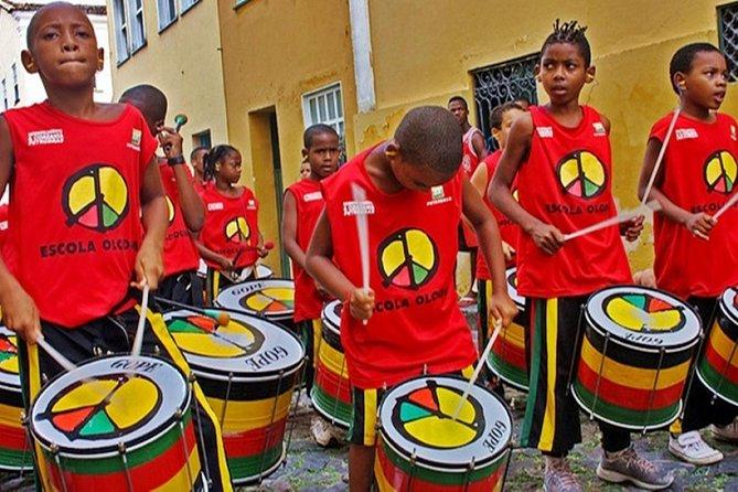 Private Samba-Reggae Percussion Class in Salvador