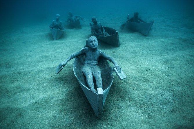 Museo Atlantico Diving Tour from Playa Blanca