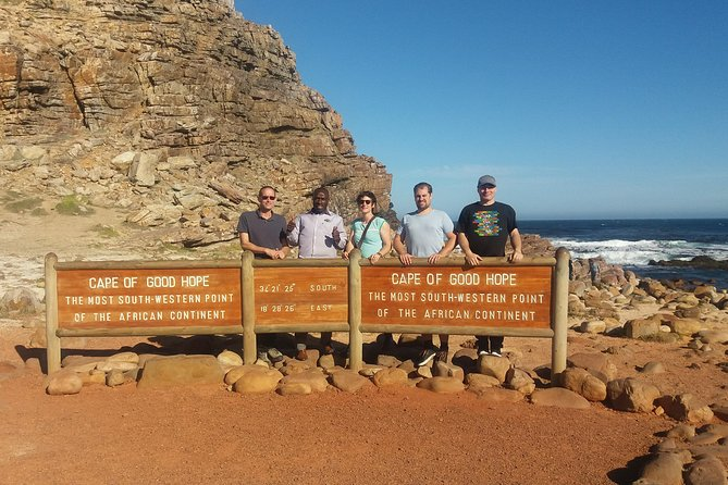 Cape Point Full Day Tour With Wine Tasting