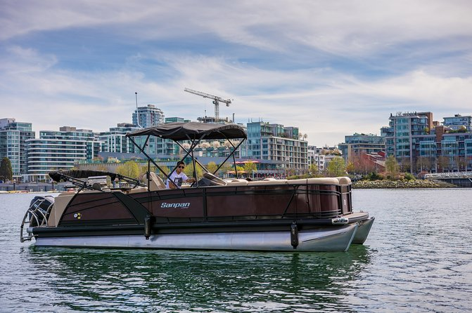 Boat Rental in downtown Vancouver