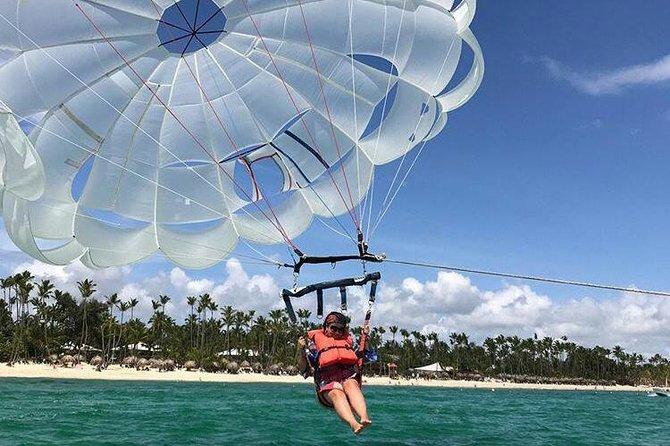 Parasailing + Shopping Tour from Punta Cana