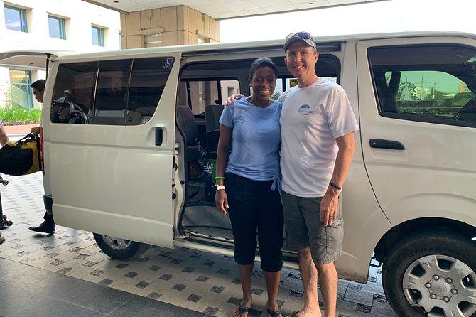 A private van transfer from Mactan Cebu Airport to Mactan Resorts or vice versa