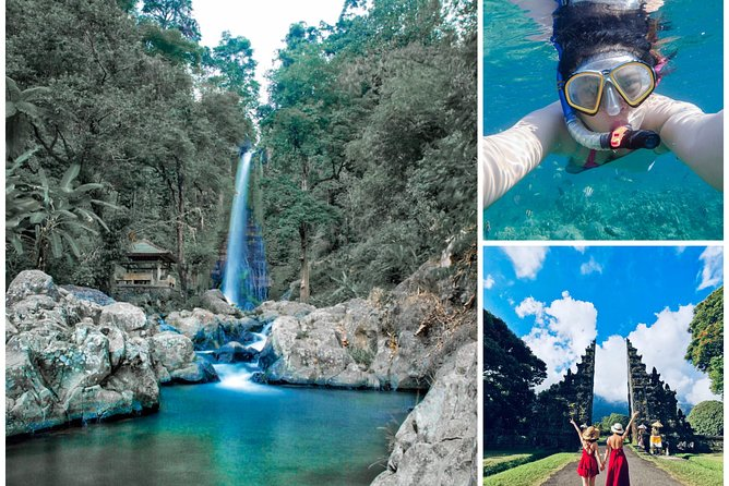 All Ticket Inclusive : Lovina Snorkeling - Waterfall - Handara Gate