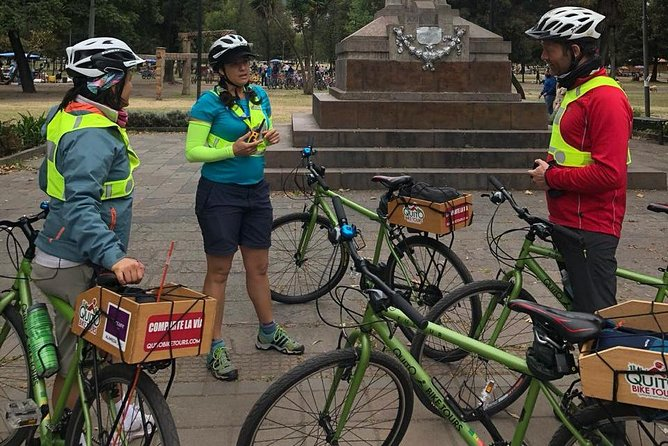 Explore Urban Quito on a Bike - Group Tour