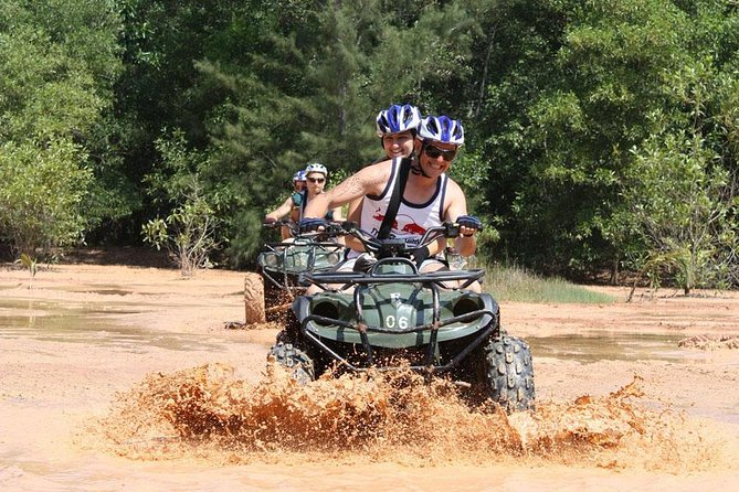 ATV Bike 1 hr + Skyline Adventure 35 platforms with Meals