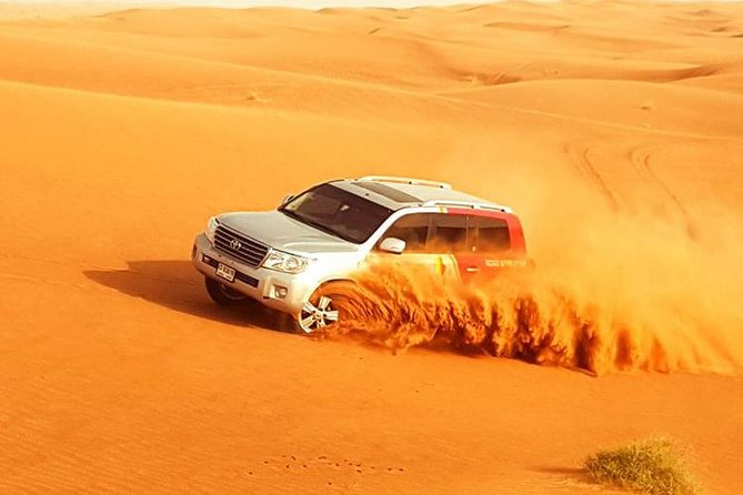 Red Dunes Safari with Camel Ride & VIP Buffet Dinner