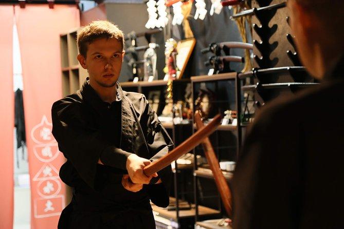 Ninja Samurai 90-mins hands-on lesson in English in Tokyo
