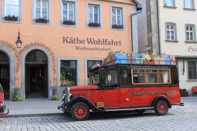 Rothenburg ob der Tauber Christmas Market Private Walking Tour