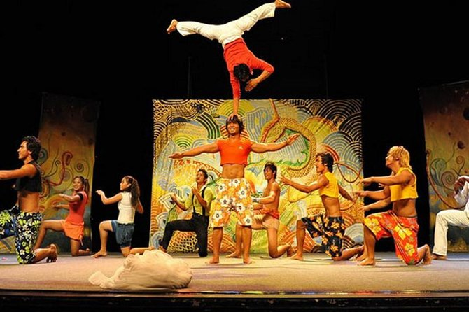 The Cambodian Circus Show & Pub Street or Night Market with Tuk Tuk