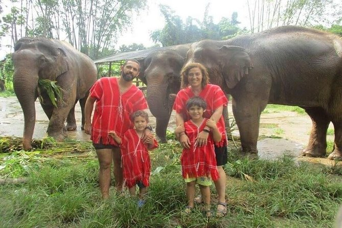 Elephant Care at Bamboo Elephant Family Care from Chiang Mai