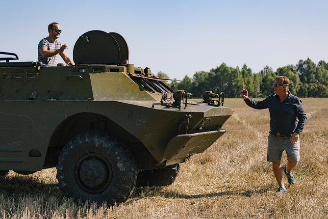 Drive a Tank Experience   BRDM-2 Military Tour  