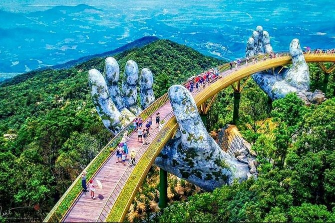 Famous Golden Bridge and Bana Hills Group Full Day Tour from Da Nang City