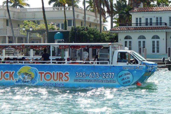Duck Tours in South Beach