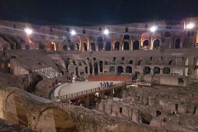 Colosseum by Night: Underground, Arena Floor and the Third Ring!
