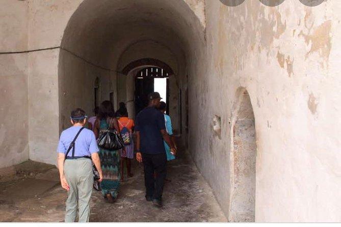 Exploring slave dungeons at cape coast castle
